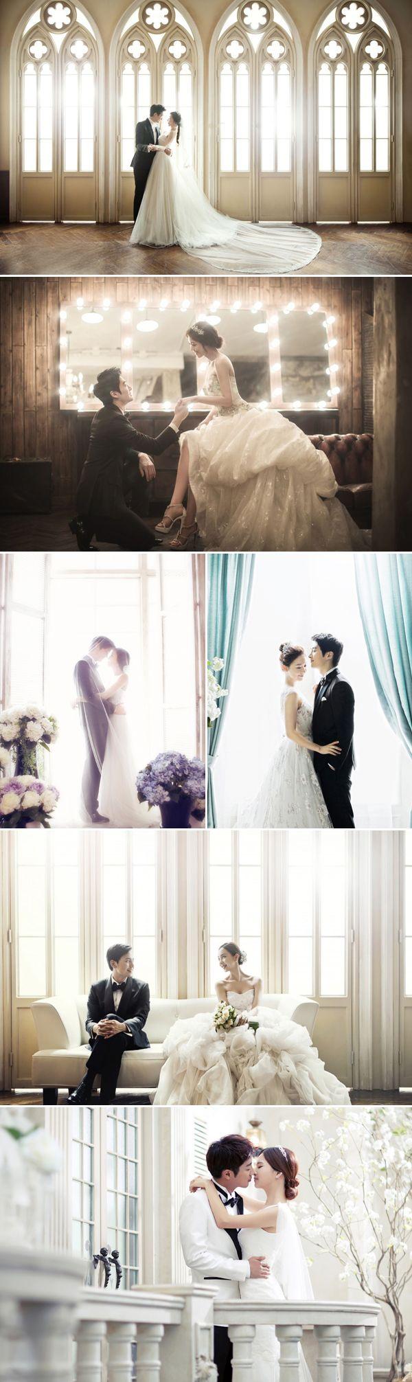 Real life kdrama dreamy korean concept prewedding photos