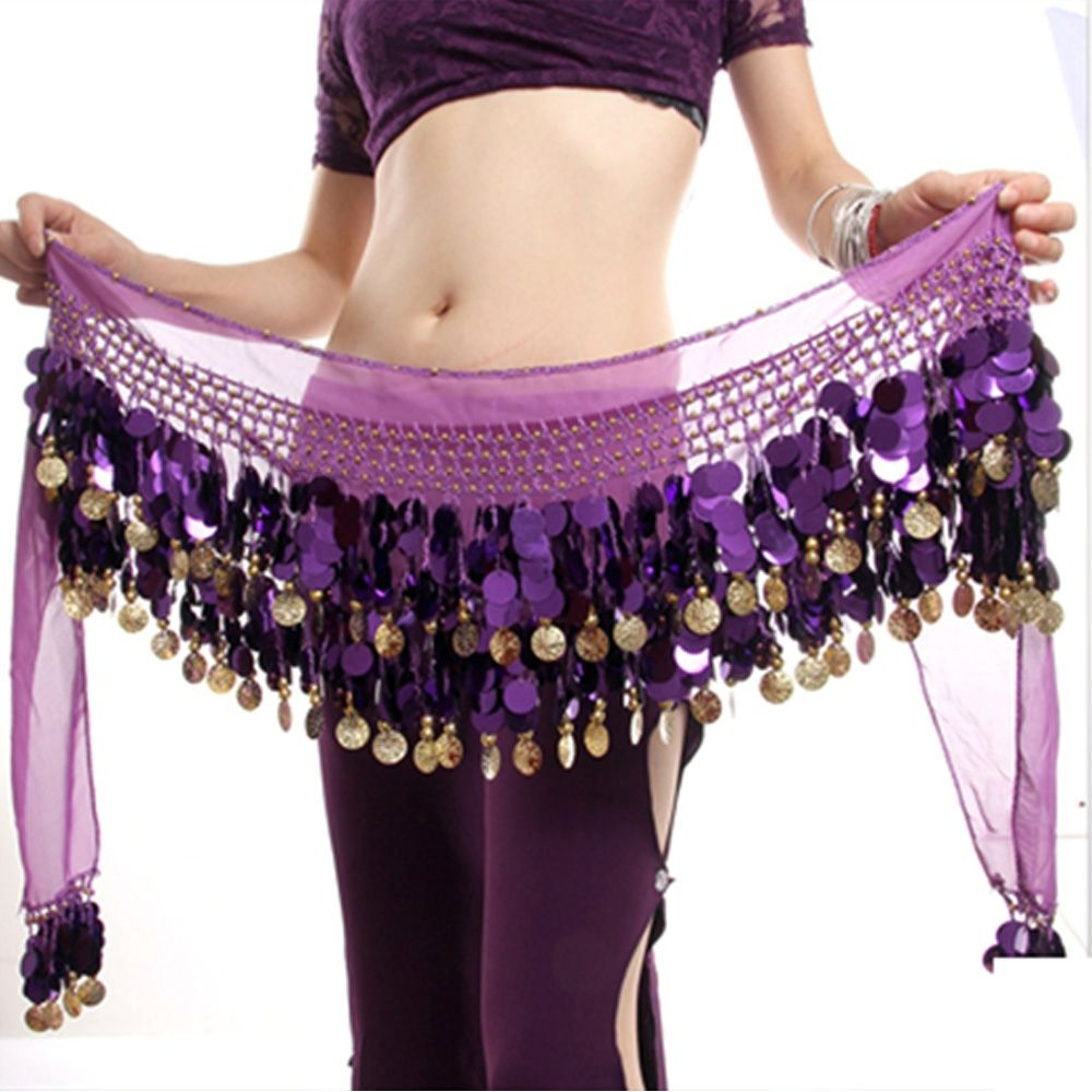 Belly Dance Costume Outfit Set Bra Belt Skirt Shrug Bollywood XL//Bra D Cup 4PCS
