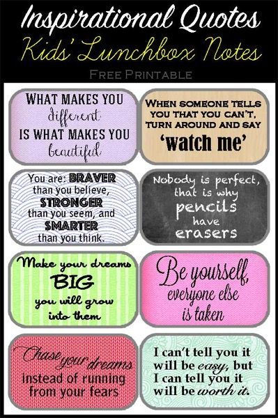 lunchbox quotes for daughter