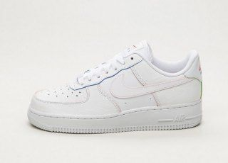 online store 68ffd 3b581 Mens Womens Nike Air Force 1 Low Premium White Red AQ4139 101 Running Shoes