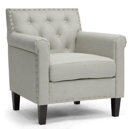 Baxton Studio Thalassa Linen Modern Arm Chair Beige You Can Get