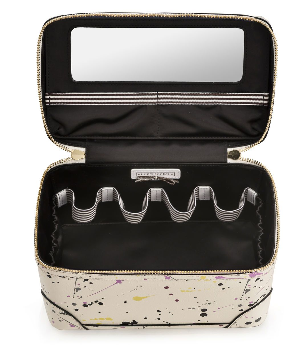 8bc3f3b15868 p>The West 57th Splatter Train Case is a classic travel accessory ...