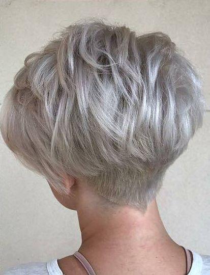 Helga Matulls Strahnchen Kurzhaarfrisuren Fur Graue Haare 3 Great