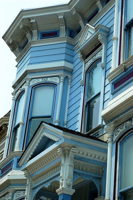 Victorian-style house, San Francisco by meaghansketch, via Flickr