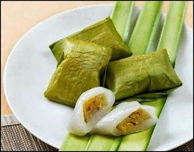 Cara Membuat Kue Nagasari Isi Pisang Manis Resep Makan Sedap Food Food To Make Indonesian Desserts