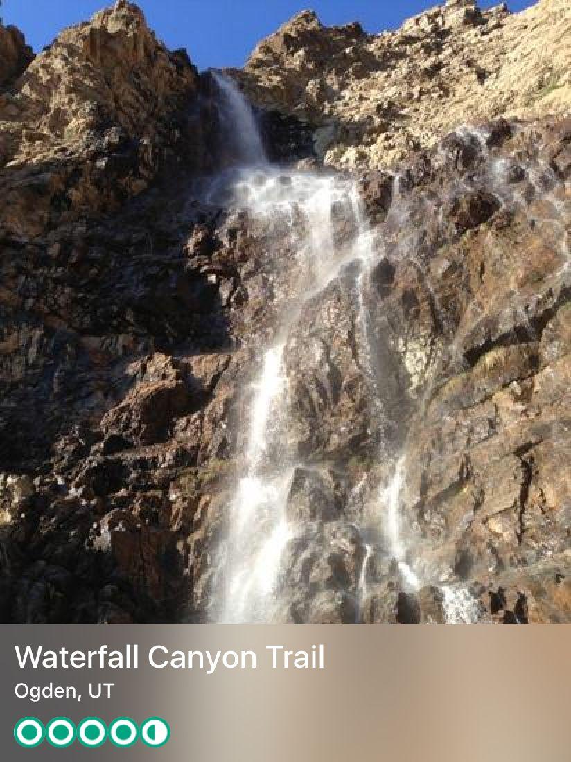 Pin by Debbie Clark on ogden Waterfall, Utah tourism