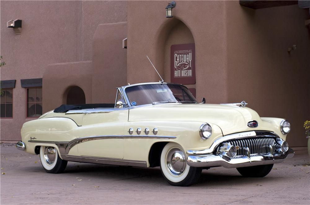 1951 Buick Roadmaster Lot 1340 Barrett Jackson Auction Company Cabriolet Convertible