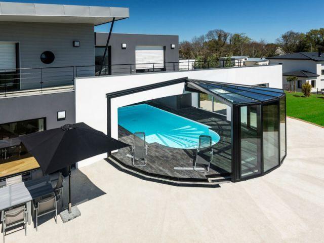 Une v randa d 39 exception pour magnifier sa maison for Piscine couverte design