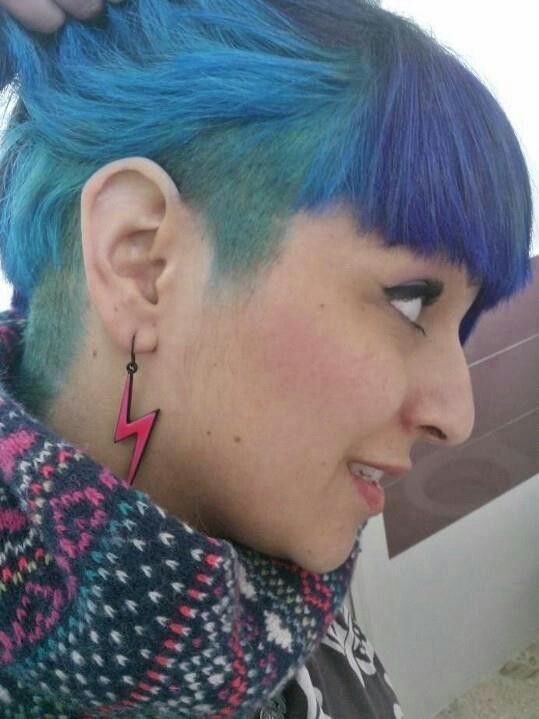 La Riche Directions Atlantic Blue Hair Beauty Cat Dyed Hair