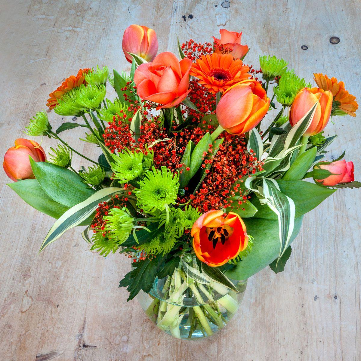 Tangerine Fizz £21.99 Send flowers online, Flowers
