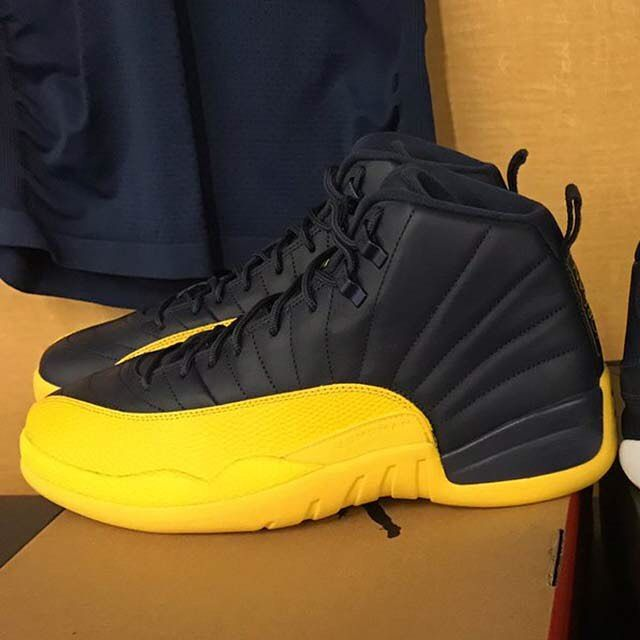 5f9fe27479e Air Jordan 12 Retro Michigan PEs for Big Blue. Should Jordan release these?  #kicks #sneakerheads #L4L #sneakerfiles #sneakerhead