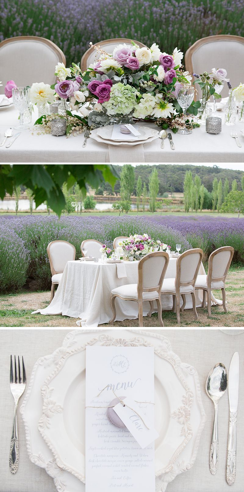 French Provincial Wedding Inspiration | French provincial, Table ...