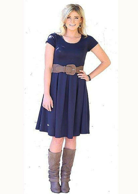 Ivy dress navy modli modest bridesmaid dresses