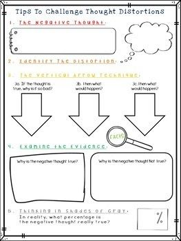 Ten Minute CBT Worksheets and Handouts for Cognitive Behavioral ...