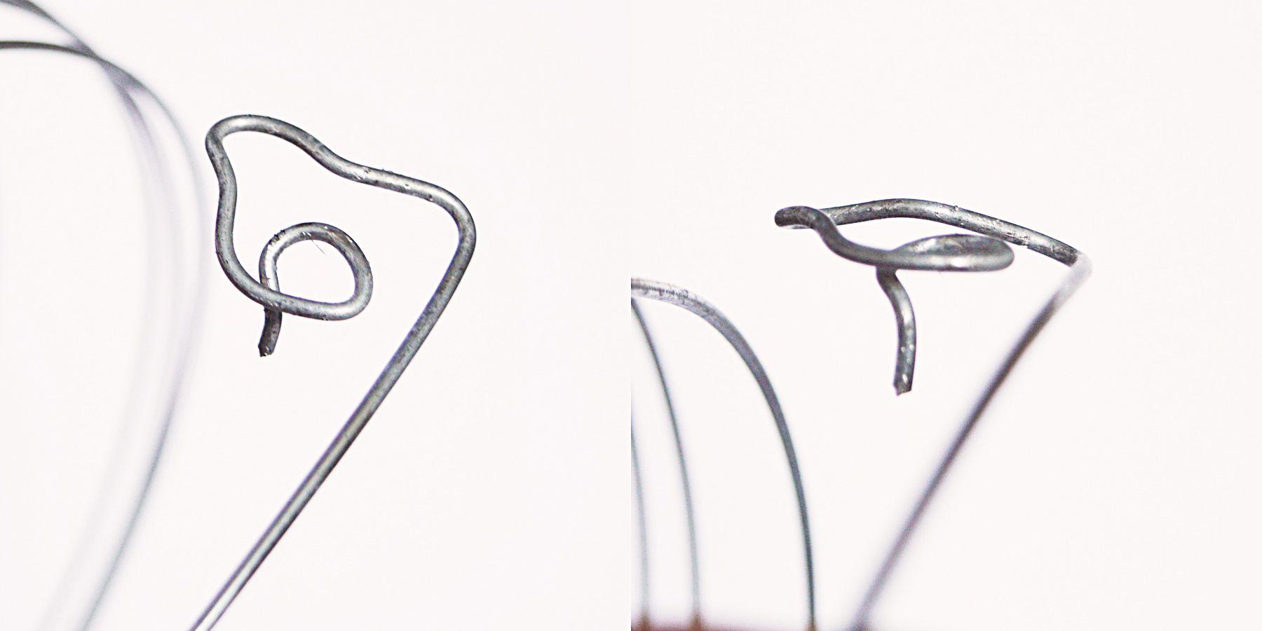 DIY wire rose #industrial decor | craftingfingers.co.uk | Yard art ...