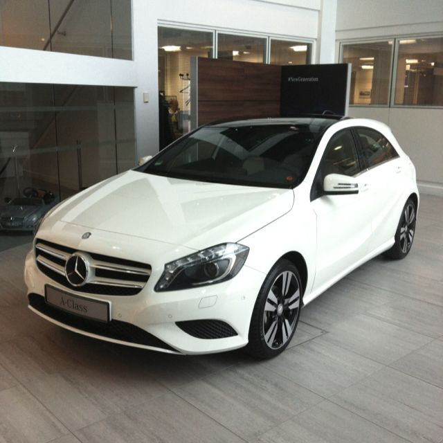 The new Mercedes-Benz A-Class