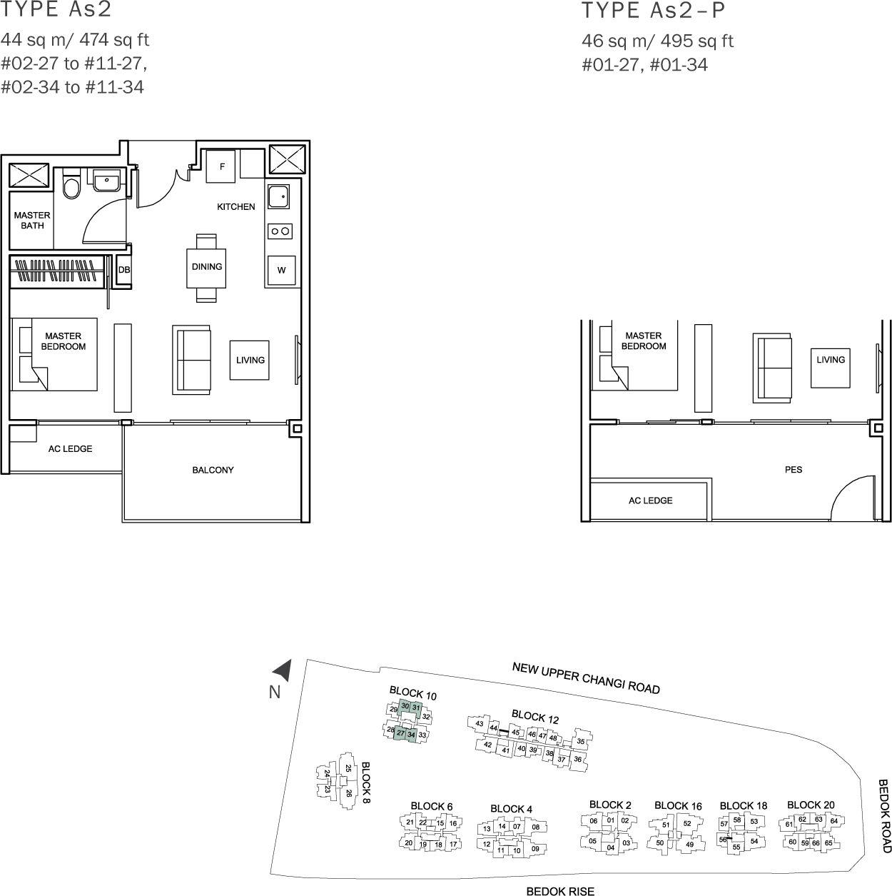 the glades condo floor plan 1br convertible as2 44 sqm 474