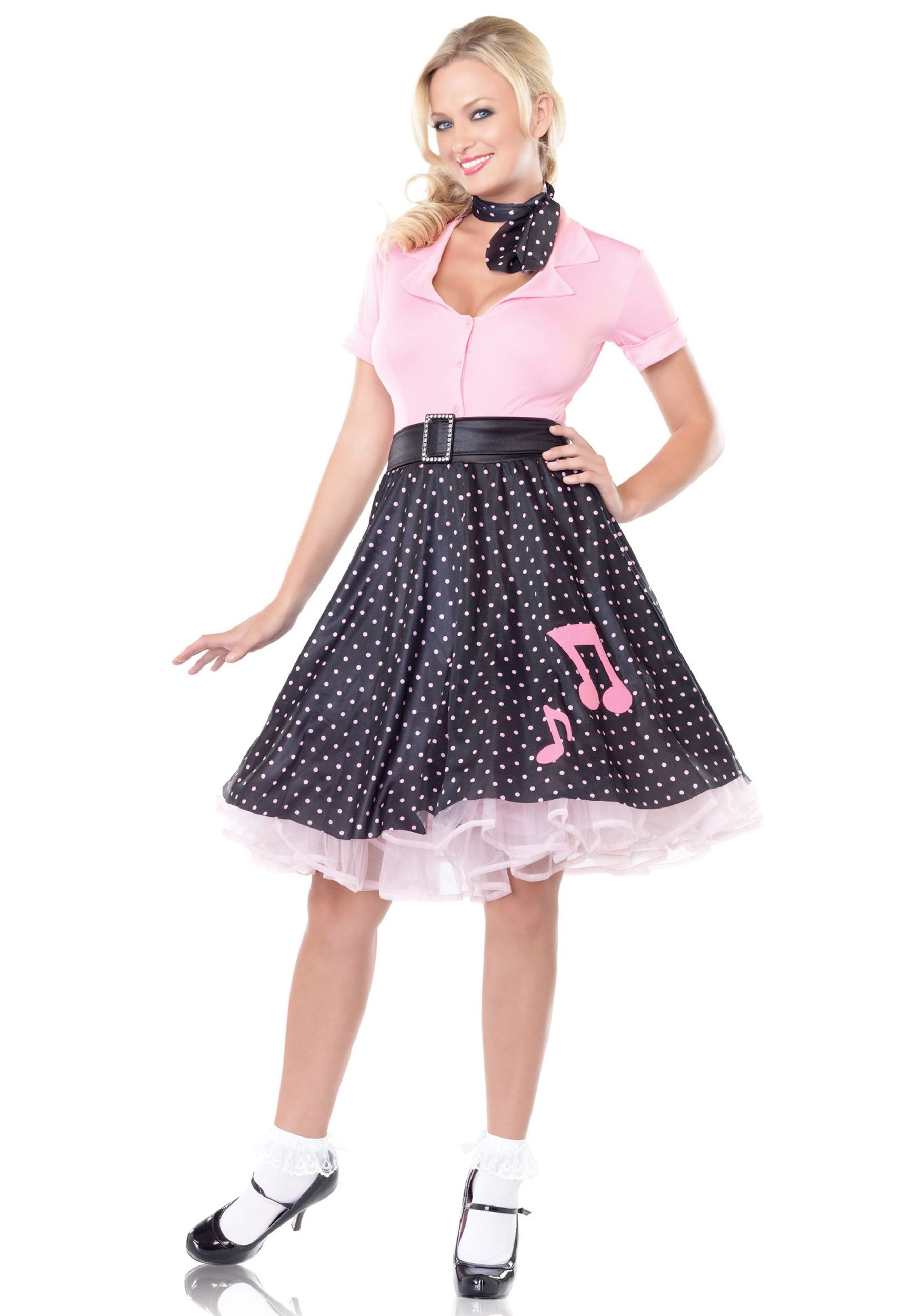 Adult Sock Hop Costumes for Women costume i would wear this any day ...