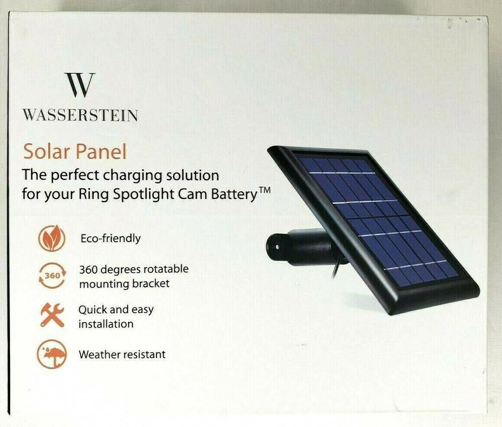 Wasserstein Solar Panel The Perfect Solution For Your Ring Spotlight Cam Battery Wasserstein Solarpanels Solarenergy S In 2020 Solar Energy Panels Solar Solar Panels