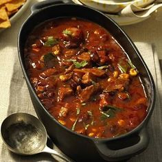 Feuriger Chilitopf aus dem Ofen Rezept  | LECKER #gulaschrezept