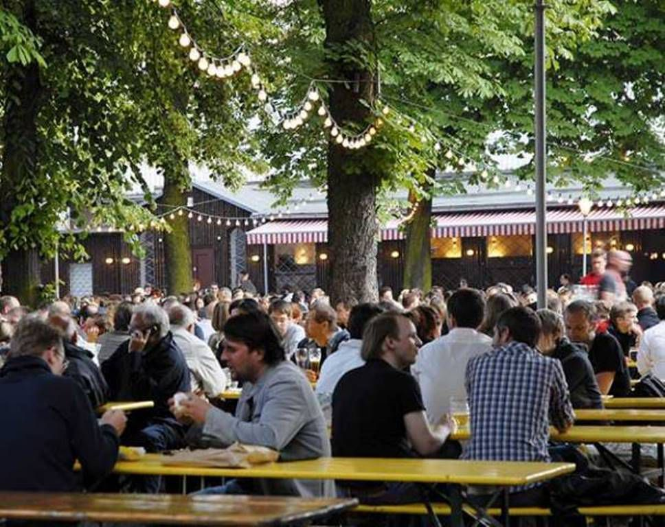 The Best Biergartens In Berlin In 2020 Beer Garden Beer Garten Beer Garden Design