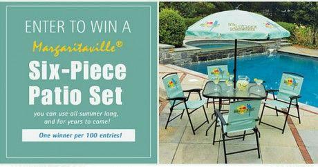 Win A 6 Piece Margaritaville Patio Set