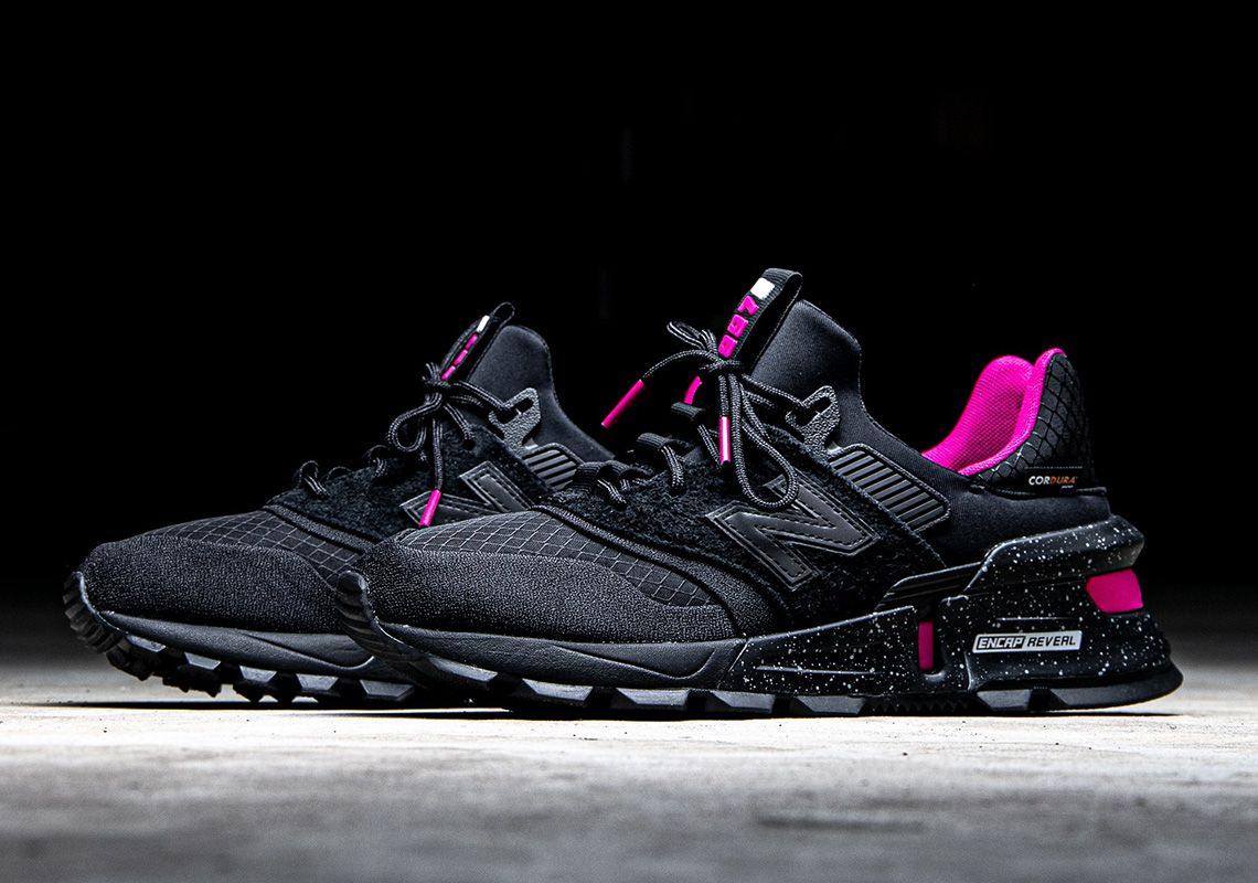 The New Balance 997S Cordura Appears In Black And Neon
