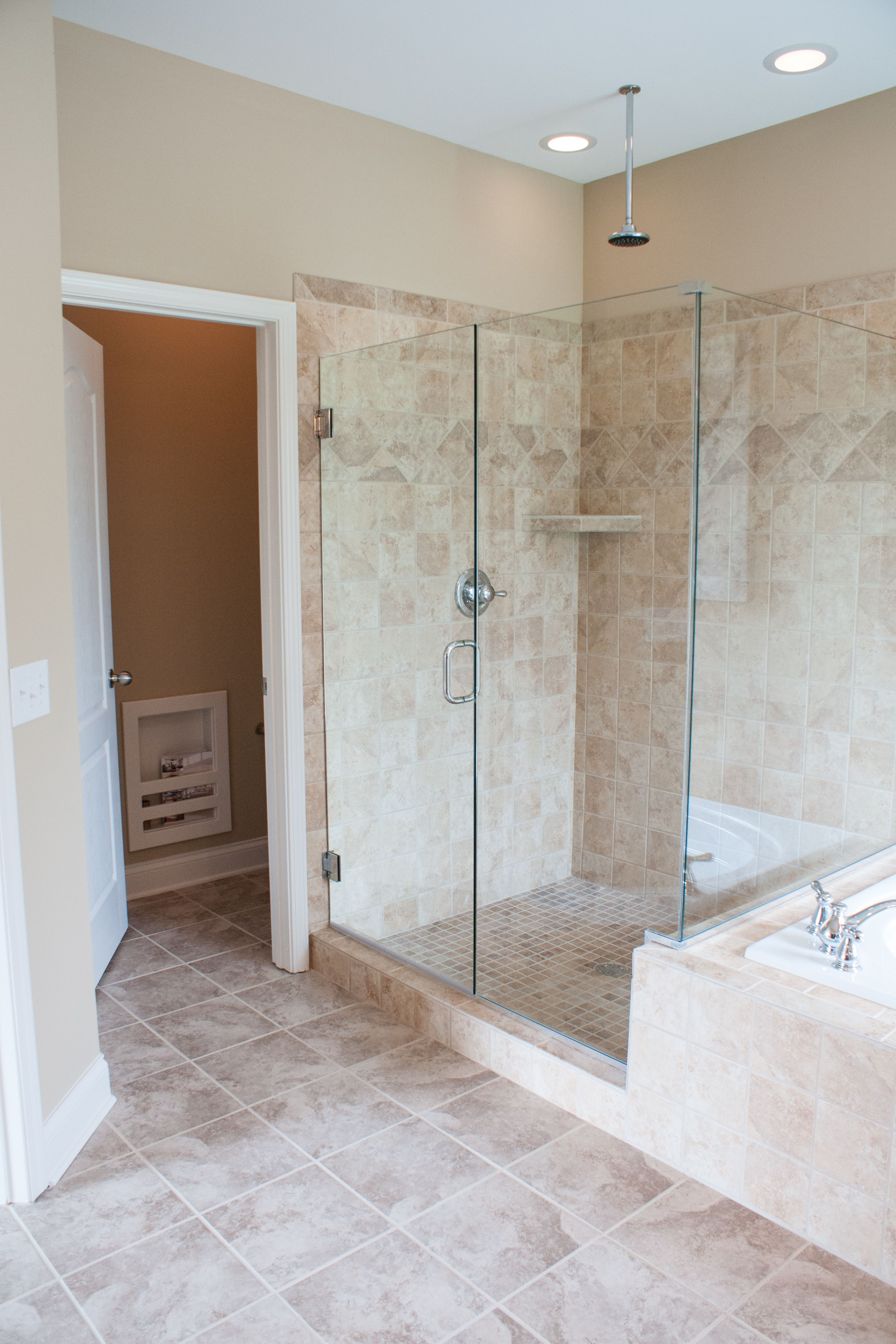 Master bathroom of the Hartford II floor plan by Ball Homes | The ...