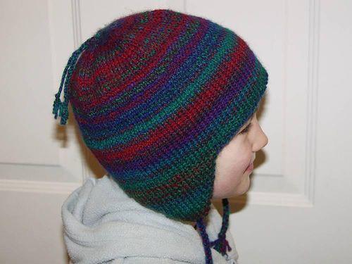 knit earflap hat pattern generator - you input yarn, head ...