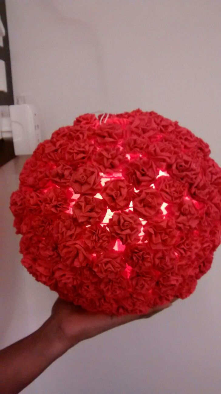 Paper Flowers Lantern By Total Waste And Papier Diwali Decorations