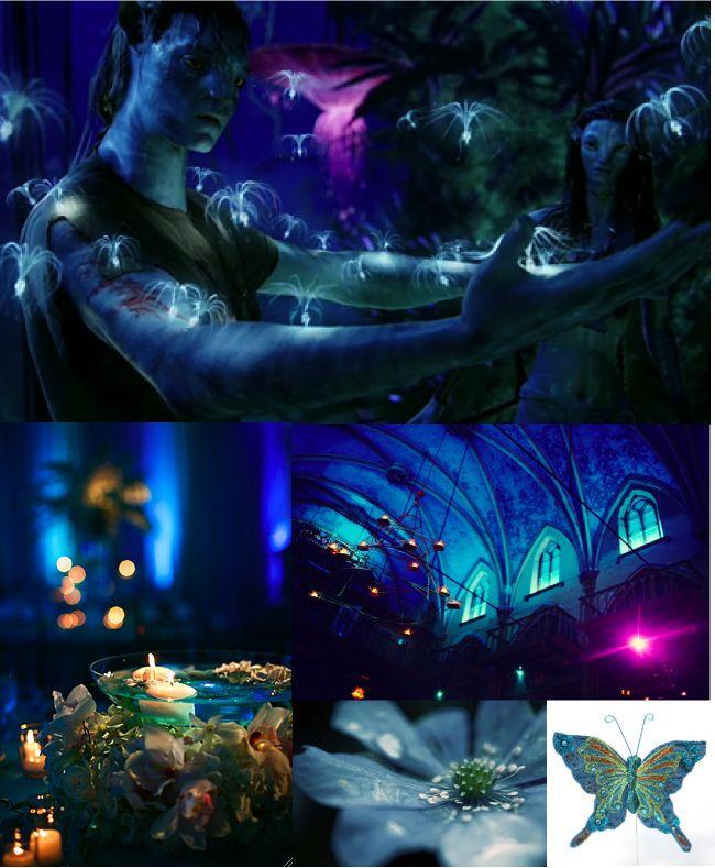 5 Gorgeous Trendy Wedding Themes For 2020: LOVE!!!!!!!!!!!!!!!!!!!!!!!!!!!!!!!!!! Avatar Themed