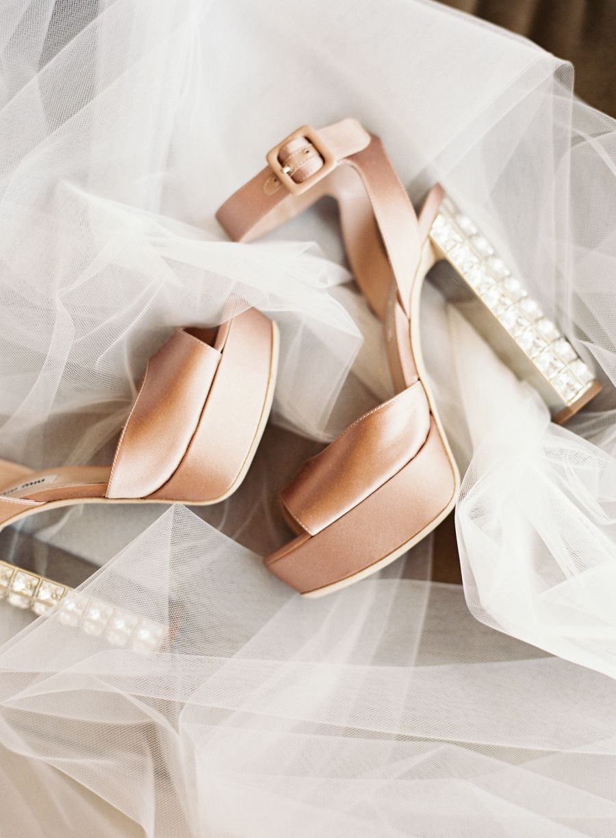 high fashion shoes for the chic bride.