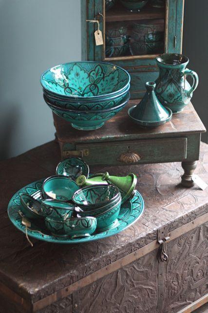 turquoise-groene accessoires - R\'dam woonkamer | Pinterest ...