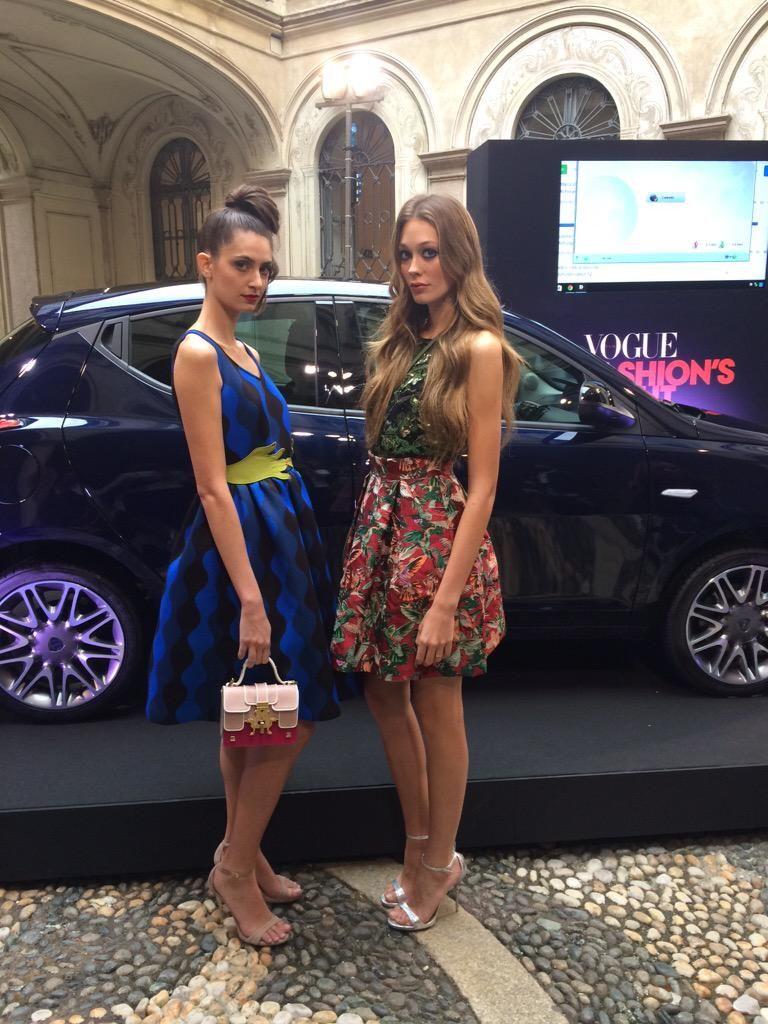 """Vogue Italia  on Twitter: """"Comincia il #vfnolanciatour da Palazzo Morando!seguiteci con la #NuovaYpsilon per questa #vfno15 @LanciaAuto http://t.co/sEAOdF0nKy"""""""