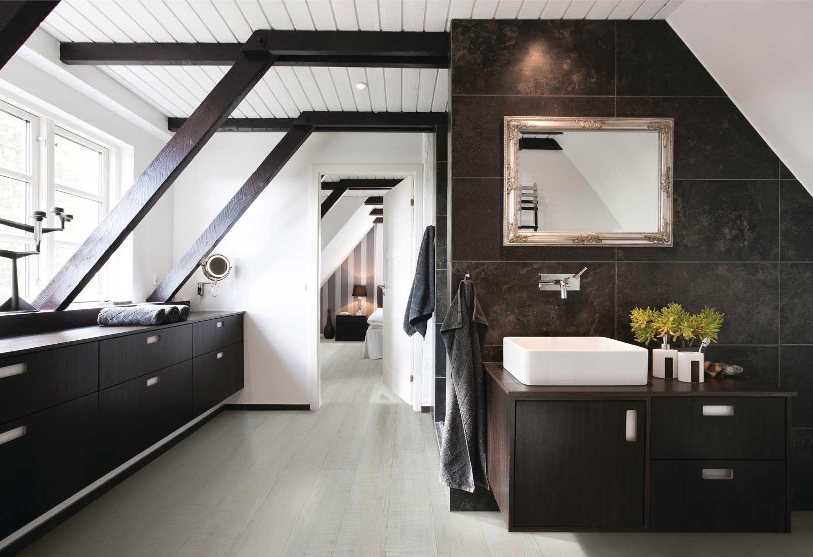 lame vinyle clipsable hybride imitation bois coretec xl 50lvp603 pin montagnard bricoflor. Black Bedroom Furniture Sets. Home Design Ideas