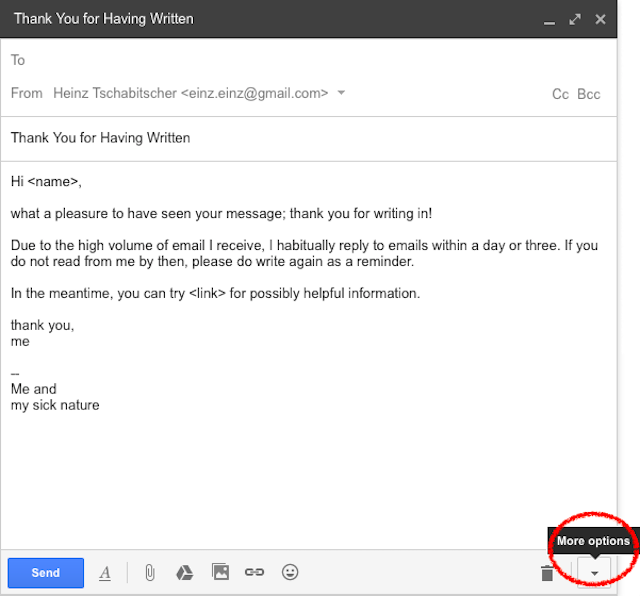 Make Your Email More Efficient With Gmail Templates  Messages