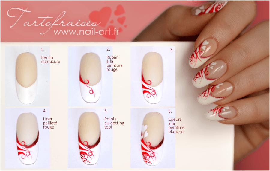 Nail art Saint Valentin | a good for nail arts♡Japan | Pinterest ...