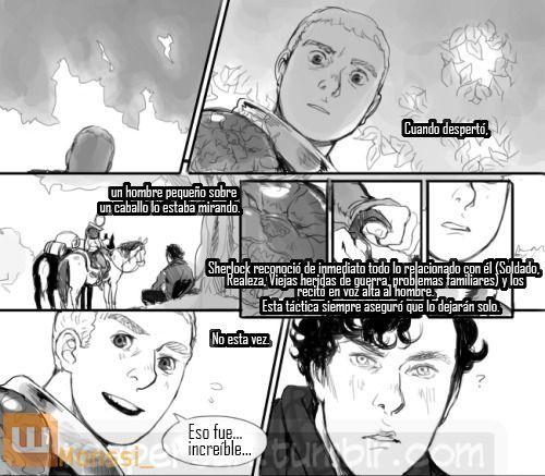 Johnlock Comic's | Johnlock, Sherlock, Historias tristes