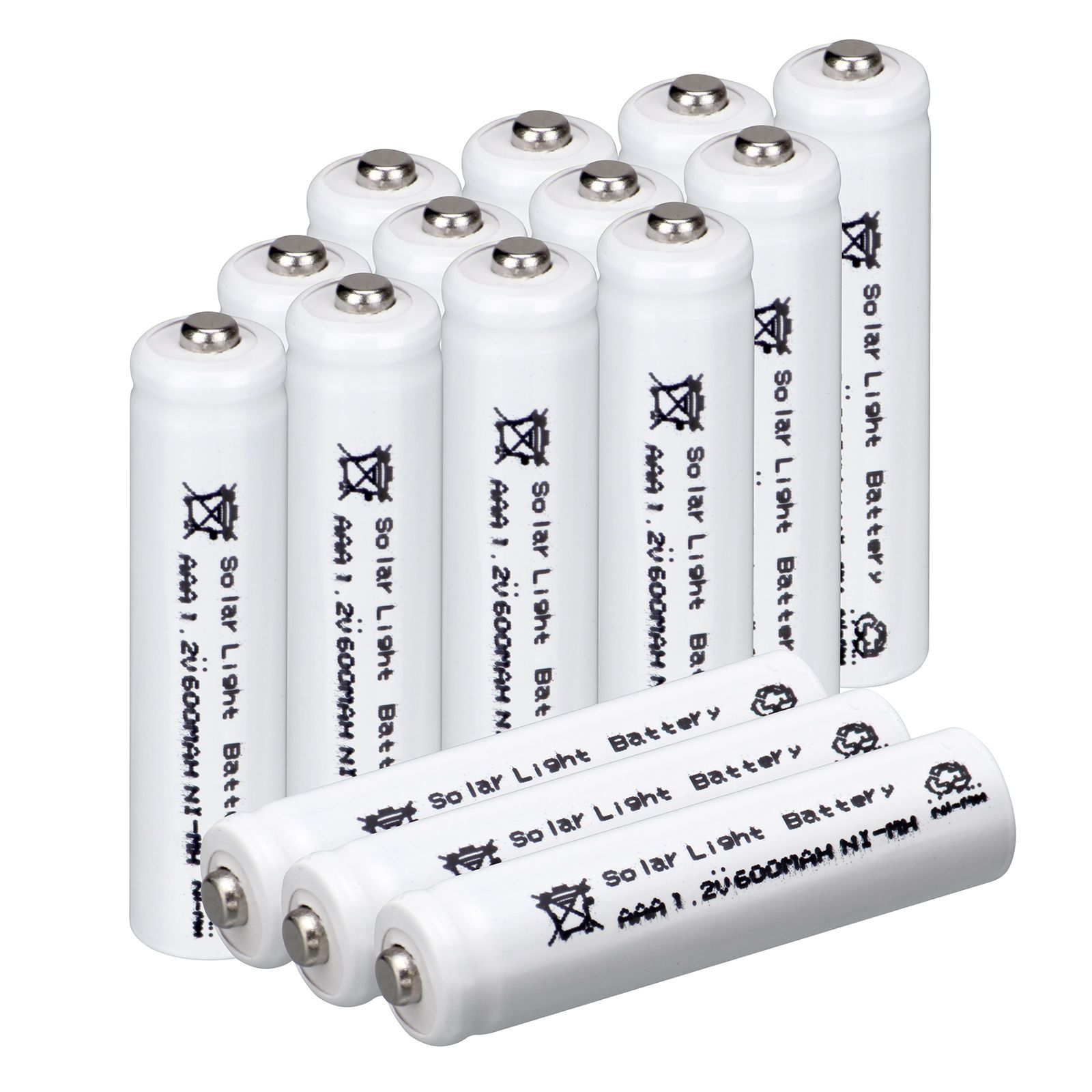 13 84 Aud Pro White 15pc Aaa Size Solar Light 1 2v 600mah Nimh Rechargeable Batteries Ebay El With Images Solar Battery Batteries Diy Rechargeable Batteries