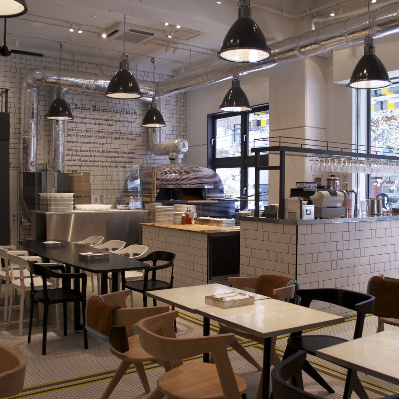 Trainspotters.co.uk - Project lighting salvaged pizzeria da ...