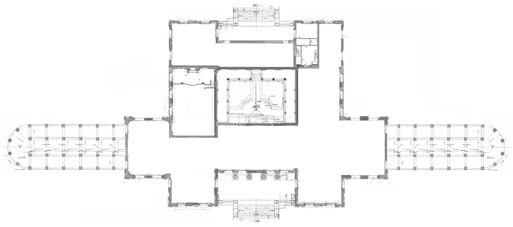 Mezzanine Plans the mezzanine-floor plan. | beaux-arts inspiration. | pinterest
