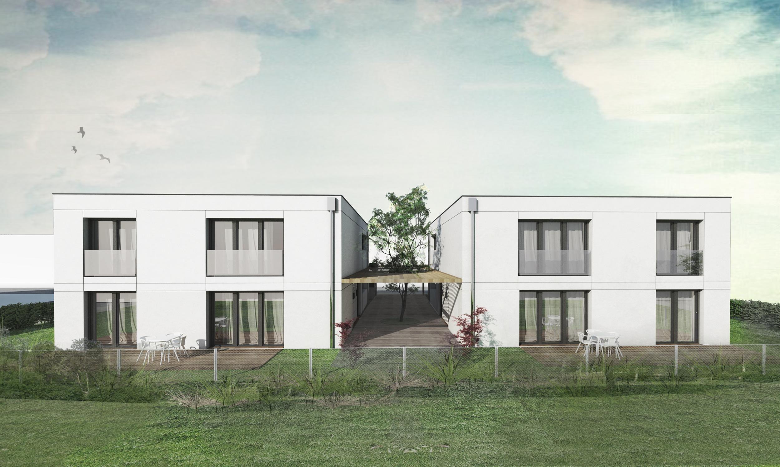 Bytové domy projekty