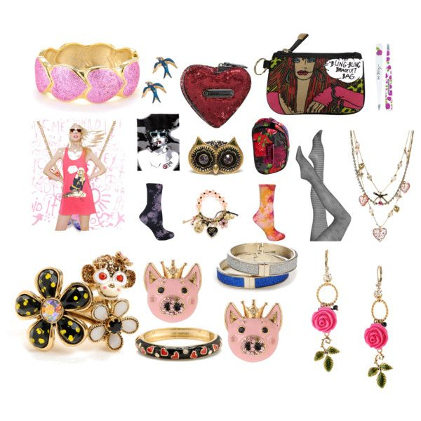 BetseyJohnson.com collage, created by maxens-pejc on Polyvore