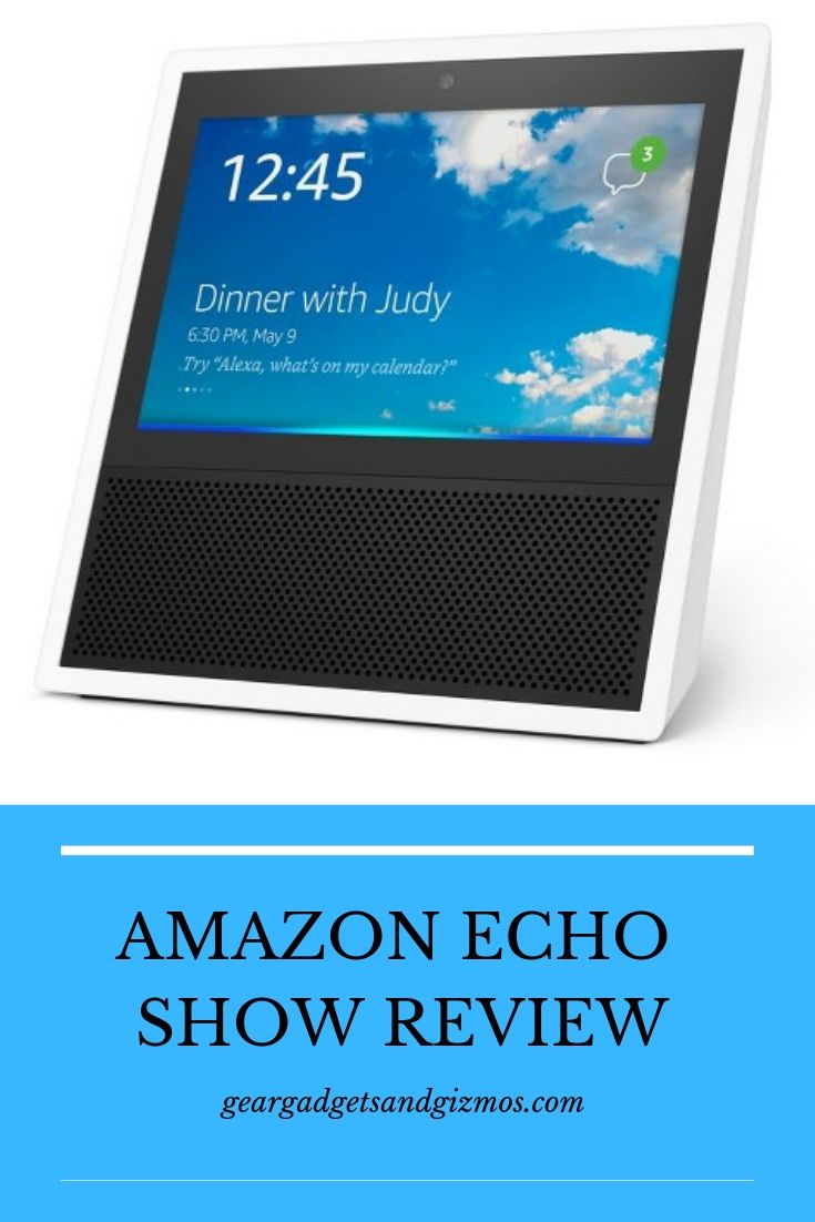 ALEXA AMAZON ECHO SHOW REVIEW #smartdevice