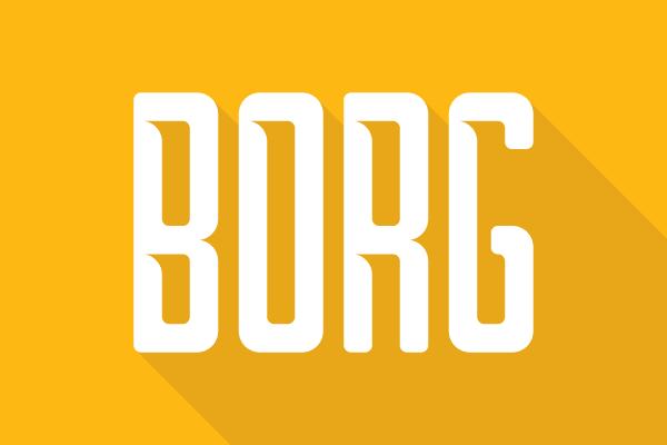 Borg | dafont.com