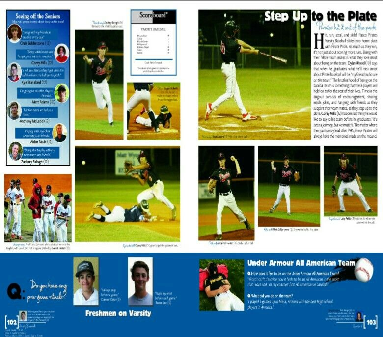 2017 Pasco High School Yearbook, Dade City, FL