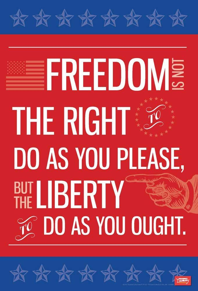 Photo of Freedom and Liberty Mini-Poster