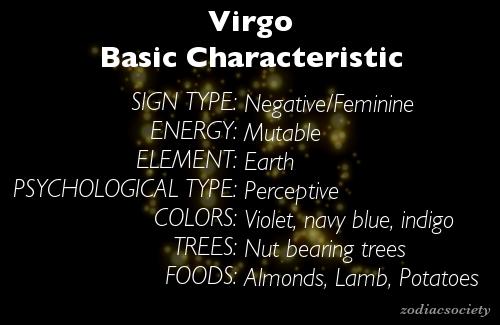 Virgo - Zodiac Society
