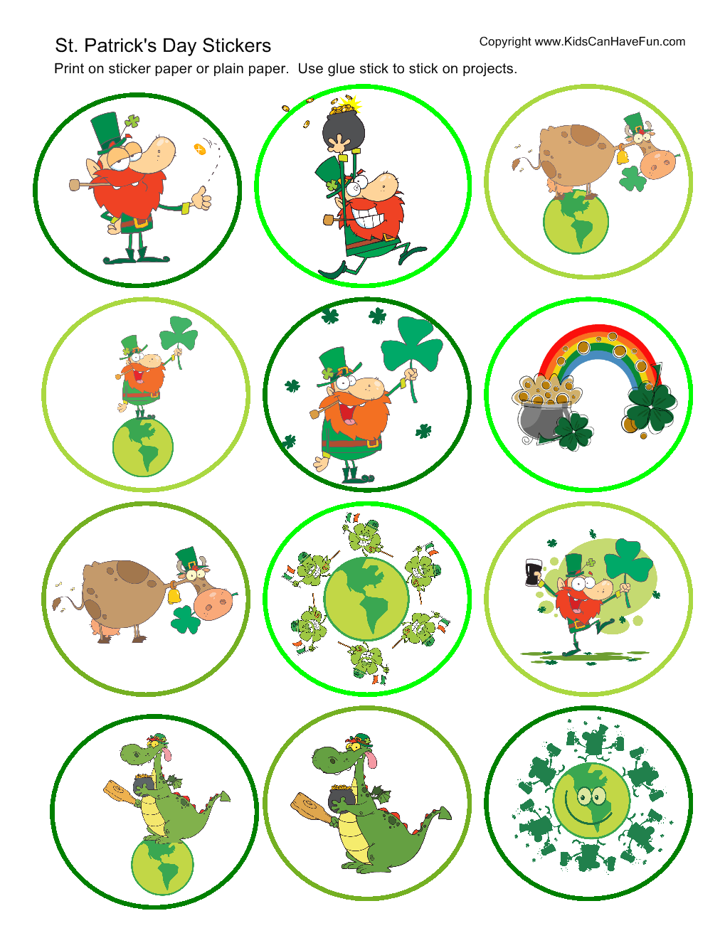 St patricks day preschool crafts - St Patrick S Day Crafts For Kids