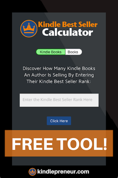 Amazon Sales Rank Calculator | The Write Stuff | Amazon publishing